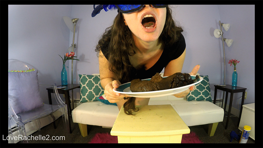 Loverachelle2 - Eating A LONG SHIT LOG With You (2160p, scat eating)