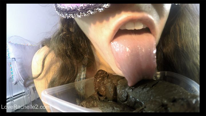 Loverachelle2 – Lick And EAT This Perfect Poop With Me(2160p, Big Ass, Solo)