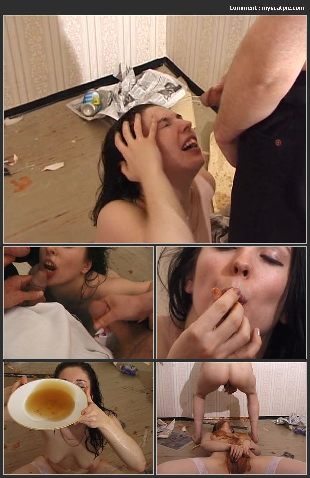 Alexia Cage's Shit Nightmare(young Girl, Smearing Scat, French, Piss On Face)