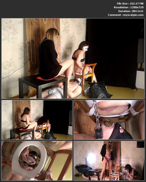 Princess Mia -The Best! (4 videos, Scatshop, mask, shit in mouth, scat slave)